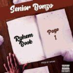 Senior Bonzo – Rhyme Book (Page 1)